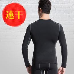 Capas base en Línea-Capa mayor-Nuevos hombres de compresión Base Boy camisas apretadas Under Skin Sport Gear baloncesto camiseta S-XXL # 0442