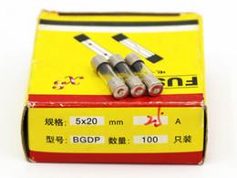 100pcs lot 25A 5*20MM Fuses Fast Quick Blow Glass Tube Fuse 5x20mm 250V 25A F25AL250V