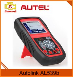 Wholesale 2PC Original AUTEL AutoLink AL539b OBDII and Electrical Test Tool with AVO Meter advanced AL539 Car Scan Tool