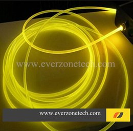Wholesale mm Solid Core Side Glow Fiber Optic Light Cable for Indoor Application