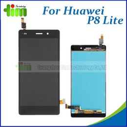 Wholesale Original new LCD Display Touch Screen For Huawei Ascend P8 Lite Digitizer Glass Panel Replacement parts tim01