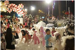 Wholesale Magic Prop DIY Instant Artificial Snow Powder Simulation Fake Snow for Party Christmas Decoration for children gift sales by In bulk
