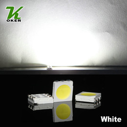 1500PCS 16-19LM White PLCC-6 5050 SMD 3-CHIPS LED Lamp Diodes Ultra Bright SMD 5050 SMD LED Free shipping