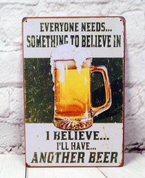Wholesale Have Another Beer Metal Tin Sign Decor For The Pub Bar Room Wall Poster