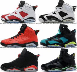 Wholesale 2016 New Mens Air Dan Retro XI Basketball Shoes For Men Low Black Athletic Sport Shoes Retros s Infrared Retro Sneakers Red Eur