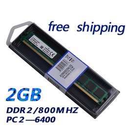 Brand new ram pc memory module ddr2 2gb ram long-dimm 800MHz ddr2 2g work with all motherboard