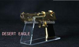 Pistolet acrylique se en Ligne-Gratuit 5PCS d'envoi afficher taille Bigger pistolets acryliques affichage des armes à feu porte Effacer chaussures stand debout rack support de pistolet de bureau