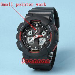 Wholesale aaa top quality relogio Ga100 box men s sports watches Luxury men watch LED chronograph wristwatch military watch digital watch