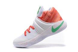 Wholesale Kyrie PE USA Ky Rispy Kreme top quality man basketball shoes Kyrie th of July sports shoes size eur