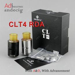 Wholesale Original Authentic INFINITE CLT4 RDA CLT IV Tank for SMOK Koopor Primus w hpirv w sigelei ipv400 ipv6x quantum w