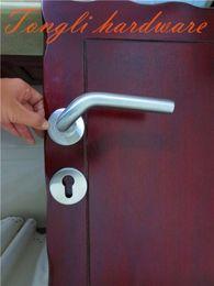 2019 new 100% stainless steel 304 lever door handle washroom outside door interior furniture pull home hardware #5