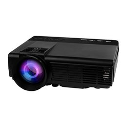 Wholesale New Q5 domestic portable projectors hd projectors children education with screen android mobile wireless projector