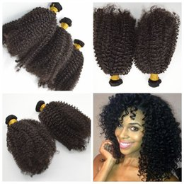 Indian Hair Bundles Kinky Curly Weave 100% Human hair afro curly Hair Extensions G-EASY Free Shipping