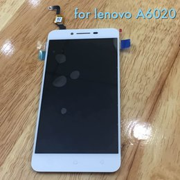 Wholesale Application of Lenovo A6020 display touch screen assembly screen inside and outside the LCD handwritten assembly