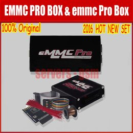 Wholesale 2016 the Newest Original EMMC Pro box emmc pro box device programmer with EMMC Booster Tool Functions and Easy Jtag Riff Box Free Shipp