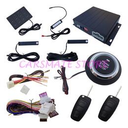 Alarme de voiture RFID avec Smart Key Hopping Code Démarrage à distance, Passive Keyless Entry, Push button Démarrage, Accès au mot de passe, Flip Key Télécommande à partir de clés les mots de passe fournisseurs