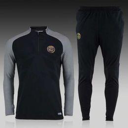 Wholesale Good quality Paris training suit Ligue Football Sportswear Set skinny pants
