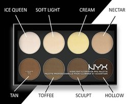 NYX Highlight & Contour Pro Palette HCPP01 Makeup Face Bronzers & Highlighters DHL Free shipping+GIFT