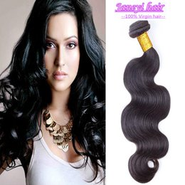Wholesale Brand New A Brazilian Peruvian Malaysian Indian Cambodian Human Hair Weaves Good Quality Hair Weft Natural Color Body Wave Hair Sample