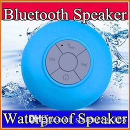 Wholesale 2016 Portable Waterproof Wireless Bluetooth Speaker mini Suction IPX4 speakers Shower Car Handsfree Receive Call Music Phone A YX