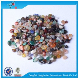 Wholesale Assorted sale Tumbled stone mm Natural Crystal Mixed Agate Beads Healing reiki good lucky energy stones