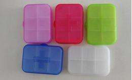 Wholesale 200pcs Pill cases Cells Mini Pill Storage Box Plastic Cases for Medicine Jewelry Organizers Medication pill box