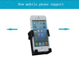 Wholesale Automobile air outlet mobile phone support vehicle plus iphone5S millet buckle type mobile phone rack seat