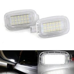 2x Error Free 18 LED Courtesy Door Light Auto Lamp Car Light Sources for Mercedes Benz W204 W216 W212 C207 X204 W221 R230 Smart