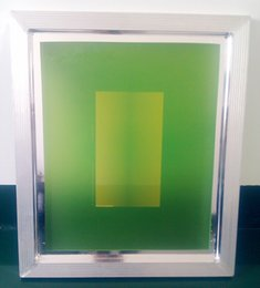 Wholesale Printing Plate Frame With White Mesh T Aluminium Alloy Frame mm Mesh Frame Net Frame Screen Frame Screen Printing Machine Part