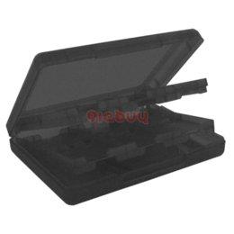 Ds lite dsi en venta-28 en titular de la tarjeta Caso 1 Juego para Nintendo DSi, DS Lite, la caja del sostenedor Negro