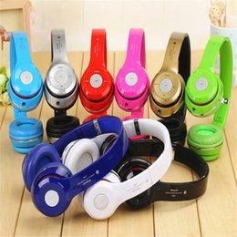 Wholesale Wireless Bluetooth Earphone Headphones Beatsstudio Studio Over Ear Foldable Bass B S460 s460 s450 Stereo Headband Headset Micphone