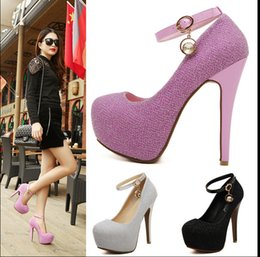 Wholesale 2016 Glitter Wedding Shoes Bridal Evening Party Crystal Red Bottom High Heels Women Shoes Sexy Women s Pumps Bridal Shoes