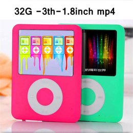 2017 New portable mini sport MP4 music player mp4 1.8inch Screen Support Micro SD Card TF Card FM recorder MP4 Slim 1.8