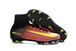 Wholesale 2016 Men s Superfly CR7 FG Football Boots Magista Obra With ACC Football Boots Men Soccer Boots Cleats Shoes Sneaker Sports Shoes Top Qualit