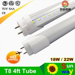 Wholesale LED tube light mm lamp LED fluorescent tube bulb T8 G13 feet FT SMD led W lm best price