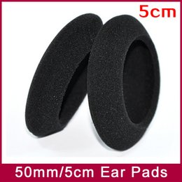 EarPads Foam Pad Sponge cushion cover Diameter 50mm 5cm for PP PX100 PX200 PX100II PX200II PX300 headphone earphones 3pairs lot