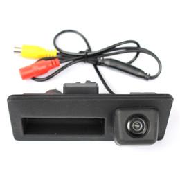 Wholesale Special Trunk handle CCD Car Rear View Camera Reverse Backup Camera For VW Passat Tiguan Golf Touran Jetta Sharan Touareg Audi