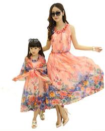 Children with girls dress is the new 2016 summer cuhk children's skirt Bohemian dress chiffon beach dress