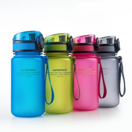 Wholesale BPAfree Water Bottles ML Fashion Scrub Portable Tea Milk Cup Resistant Sports Nutrition Custom Shaker Bottles