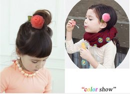 Wholesale 6pcs lot 4Colors Boutique Artificial Chiffon Hair Flowers WITH CLIP For Baby Girls Hair Accessories