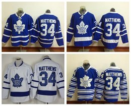 Wholesale 2016 New Draft Toronto Maple Leafs Jersey Blue Auston Matthews Ice Hockey Jerseys Winter Classic Alternate Blue All Stitched Best Quality