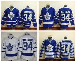 Wholesale 2016 New Draft Toronto Maple Leafs Jersey Blue Auston Matthews Ice Hockey Jerseys Winter Classic Alternate Blue All Stitched Best Quality