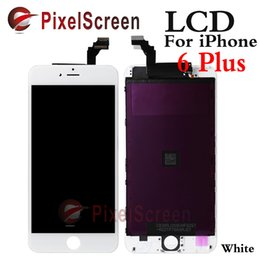 Wholesale White Color original OEM LG LCD for iphone Plus inch LCD screen display with Touch Screen Digitizer Assembly