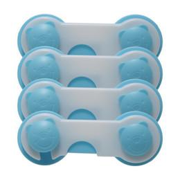 Armarios niños en Línea-10pcs / set Bloqueo para niños de seguridad del cajón, los niños de plástico de seguridad Cerradura, Puerta Armario Armario gabinete del refrigerador de Cierre de Seguridad