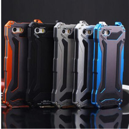 High Quality Gundam Alloy Aluminum Metal Life Waterproof Cases Powerful Phone Cover For iphone 5 5c iphone 6 samsung s6 mobile phone