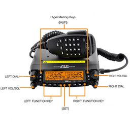 Wholesale Fast Shipping DHL EMS TYT TH Newest Version A Quad Band Radio Transceiver with Programming Cable and CD Software