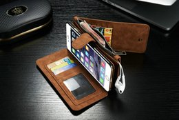 Wholesale Best quarity iphone s cases Wallet case With Stand Case For iPhone case waterproof Phone Bag With Credit Card Holder