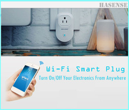 Wi-Fi Smart Plug Remote Switched Outlet with Home Automation App for iPhone and Android Phone, Control Lights & Appliances From Anywhere