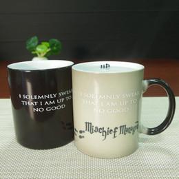 Wholesale best gifts harry potter ceramic heat sensitive magic full color changing mug tea cups
