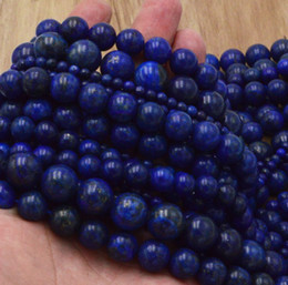 Wholesale 16 high quality Natural Gemstone lapis lazuli Round Spacer Loose Beads mm mm mm mm mm